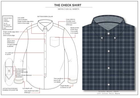 Check shirt page